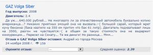 Волга Сайбер отзывы владельцев