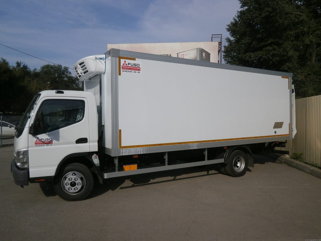 Изотермический фургон.