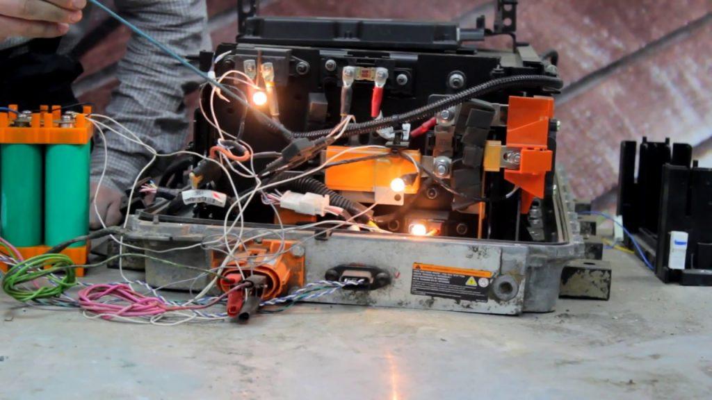 батареи Renault Twizy