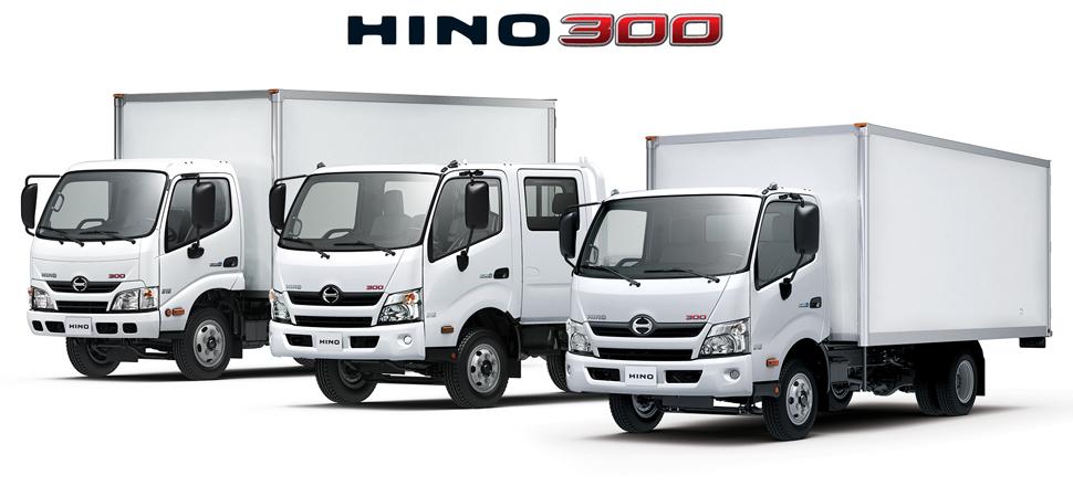 Комплектации Hino 300 (Dutro)