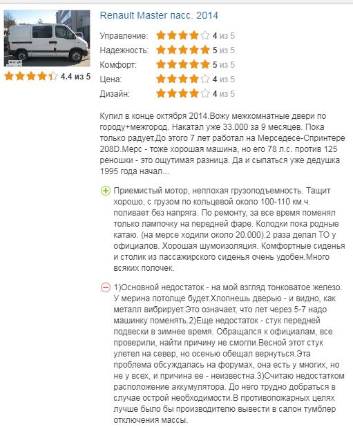 о Renault Master