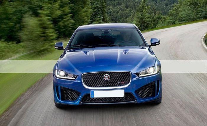 Фасад Jaguar xe