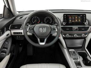 Honda-Accord-панель управления