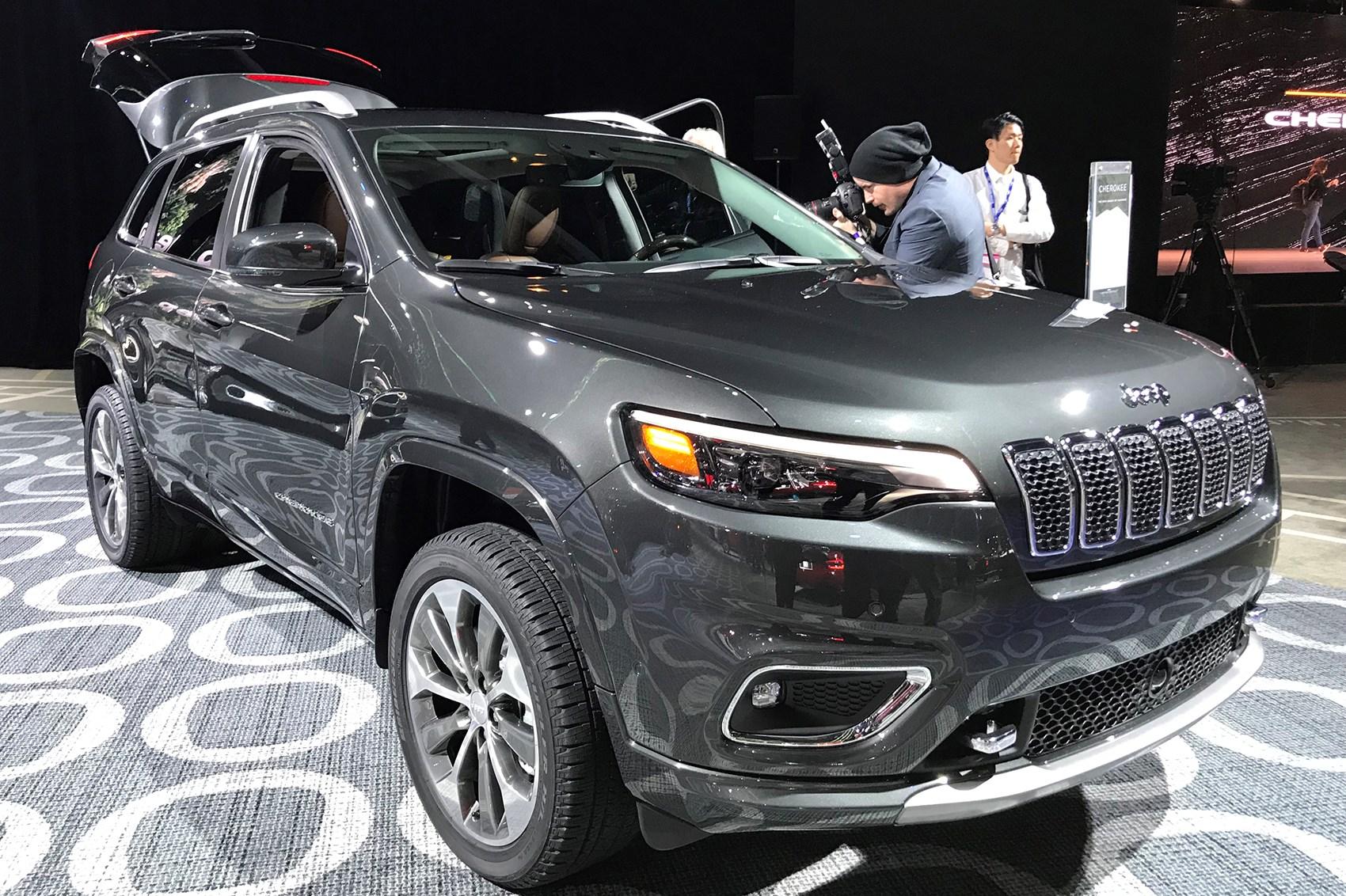 Jeep Cherokee 2018 .