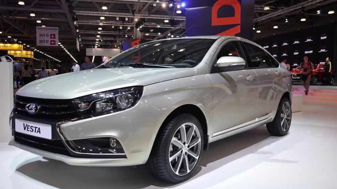 Lada Vesta exclusive.