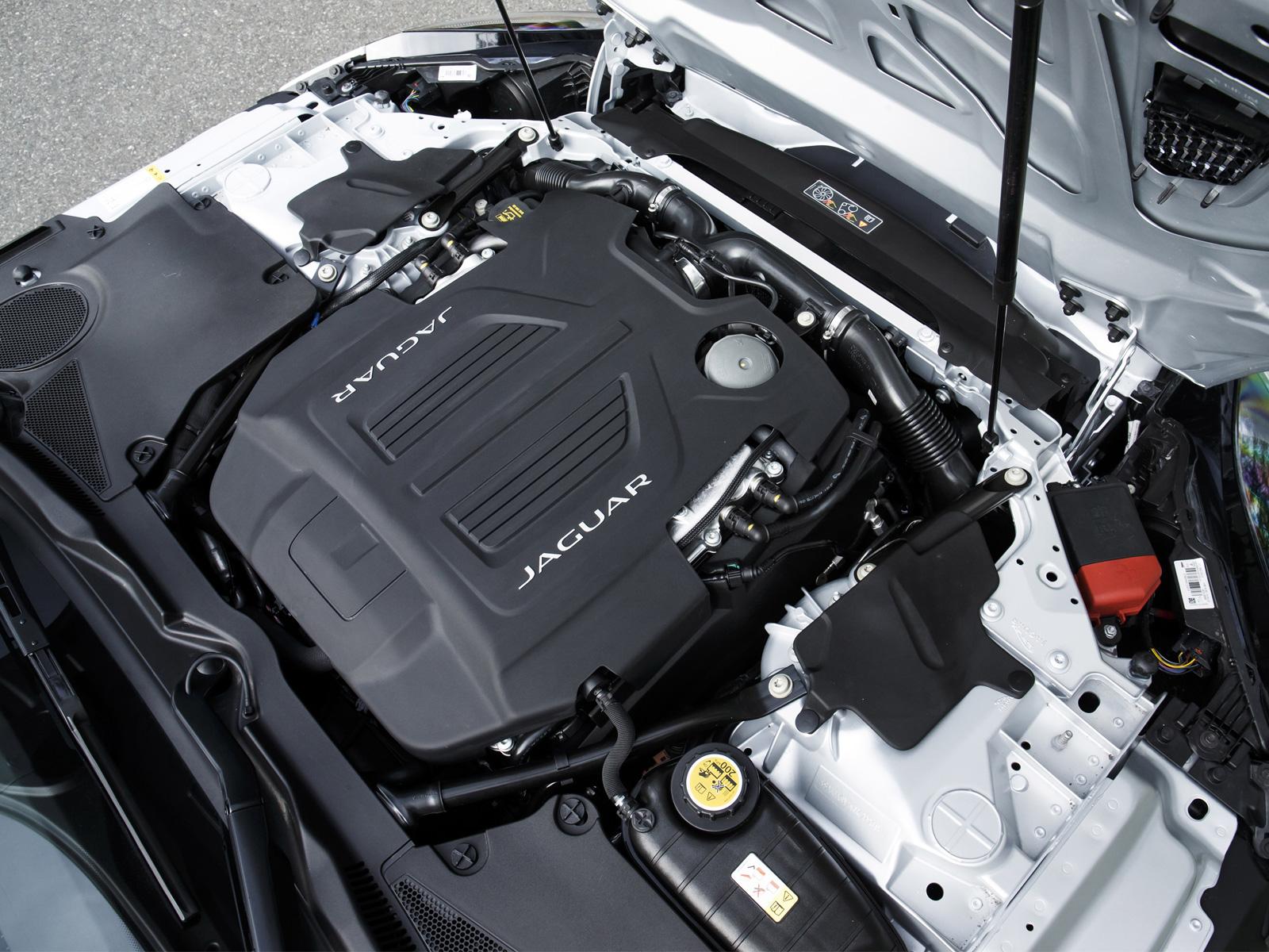 бензиновый двигатель Jaguar