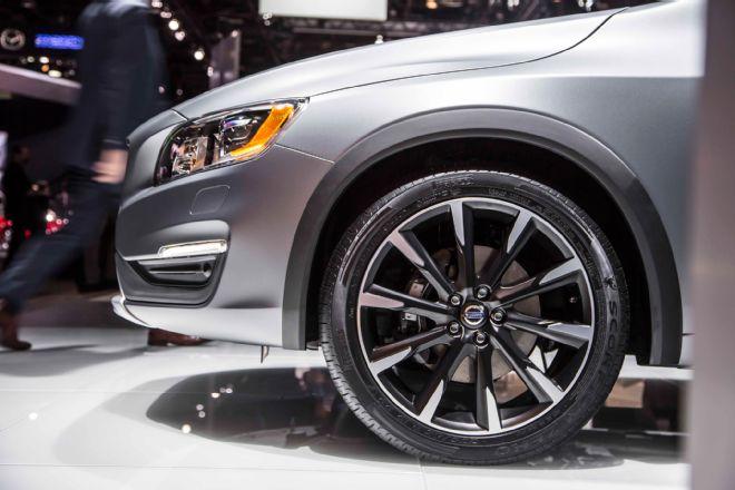 колёсные арки Volvo V60