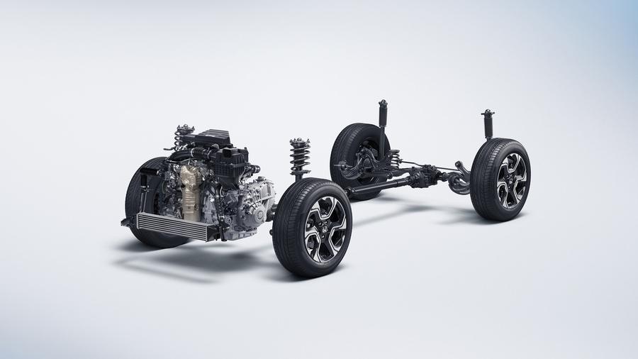 Honda CR V платформа
