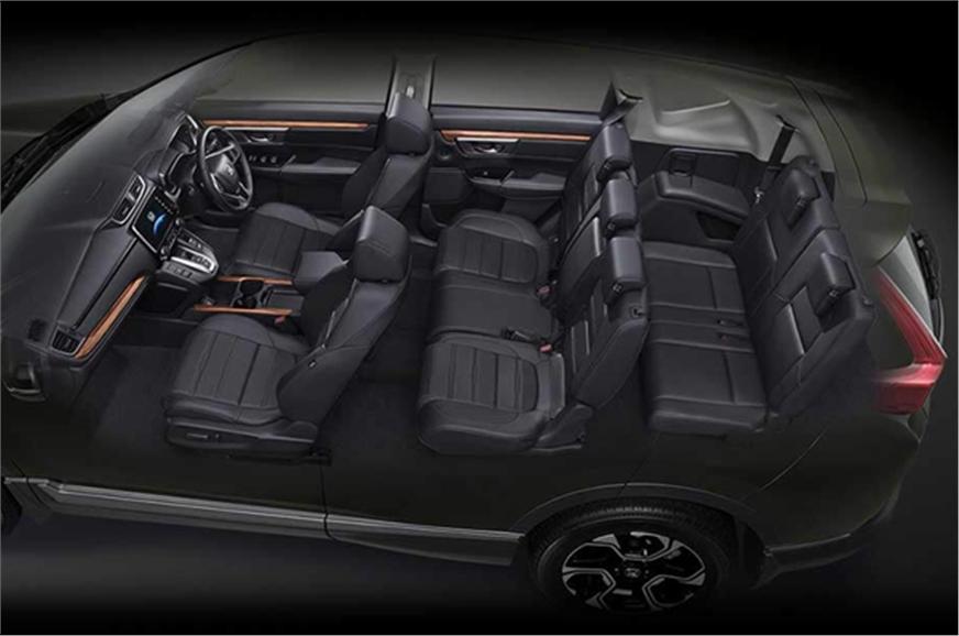 Honda CR V салон