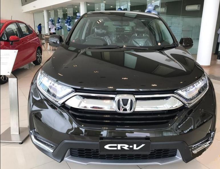 Honda CR V вид спереди