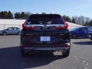 Honda CR V вид сзади