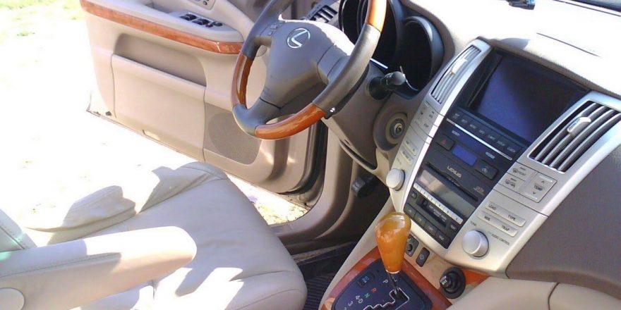 Лексус РХ 350 рулевое управление