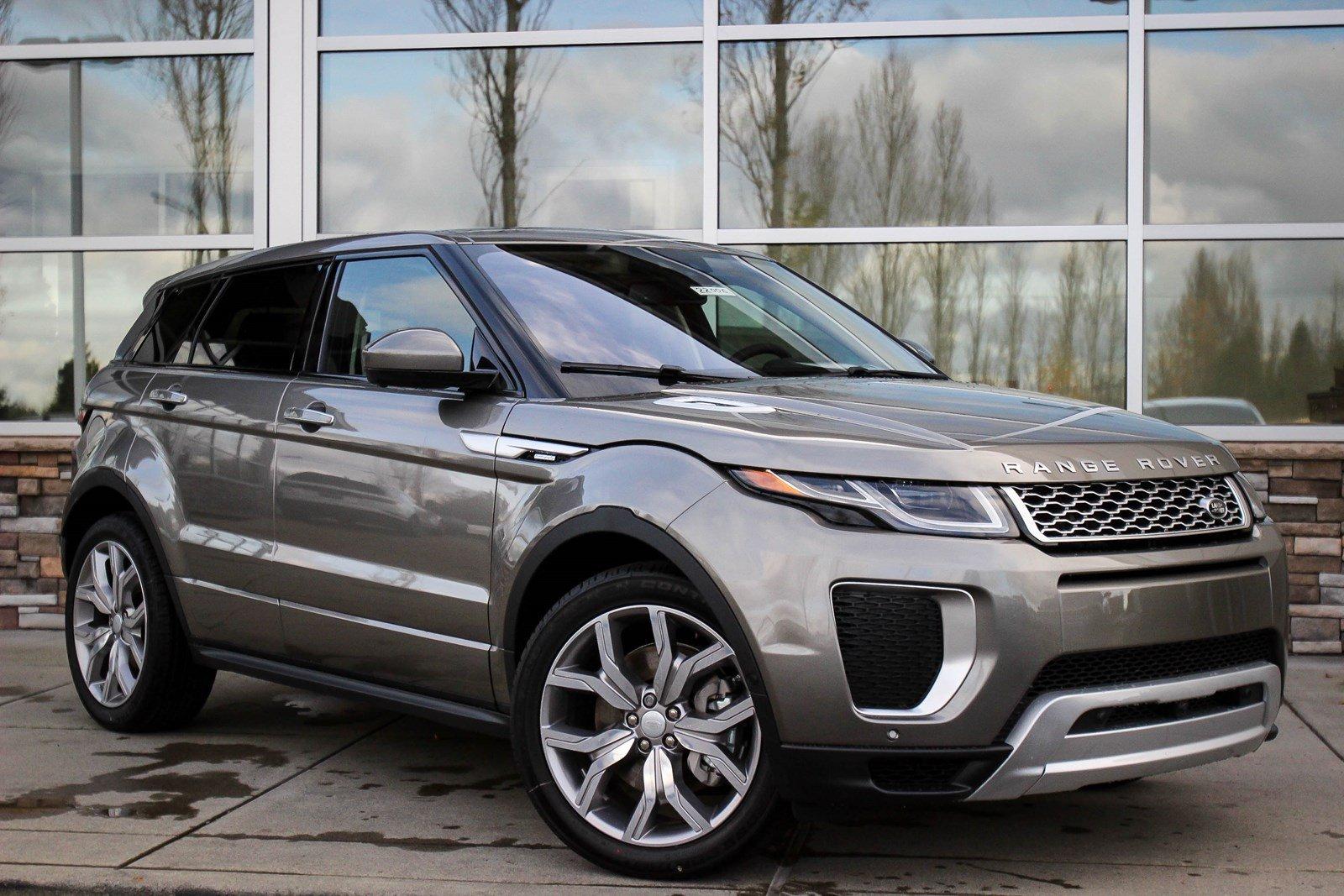 Range Rover Evoque 2018,