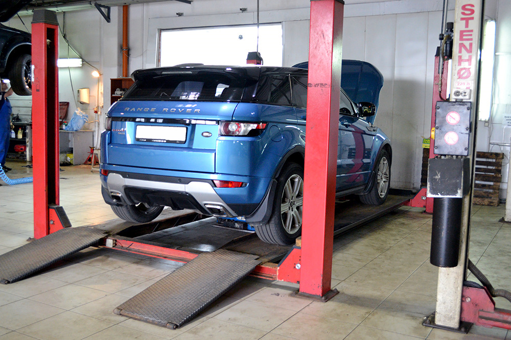 Range Rover Evoque автосервис