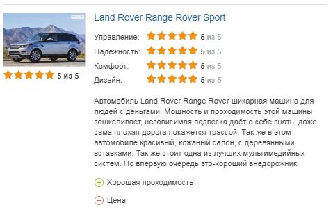 Range Rover Sport 2 отзыв