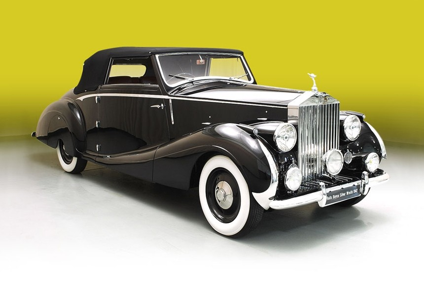 Rolls Royce Silver Wraith.