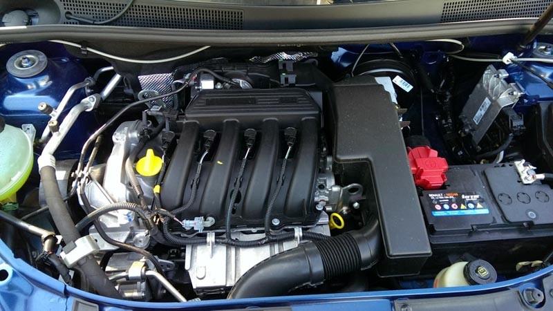 двигатель рено логан 1 6 16v