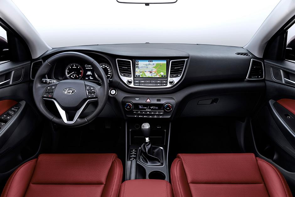 интерьер Hyundai Tucson