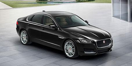 jaguar xf новый