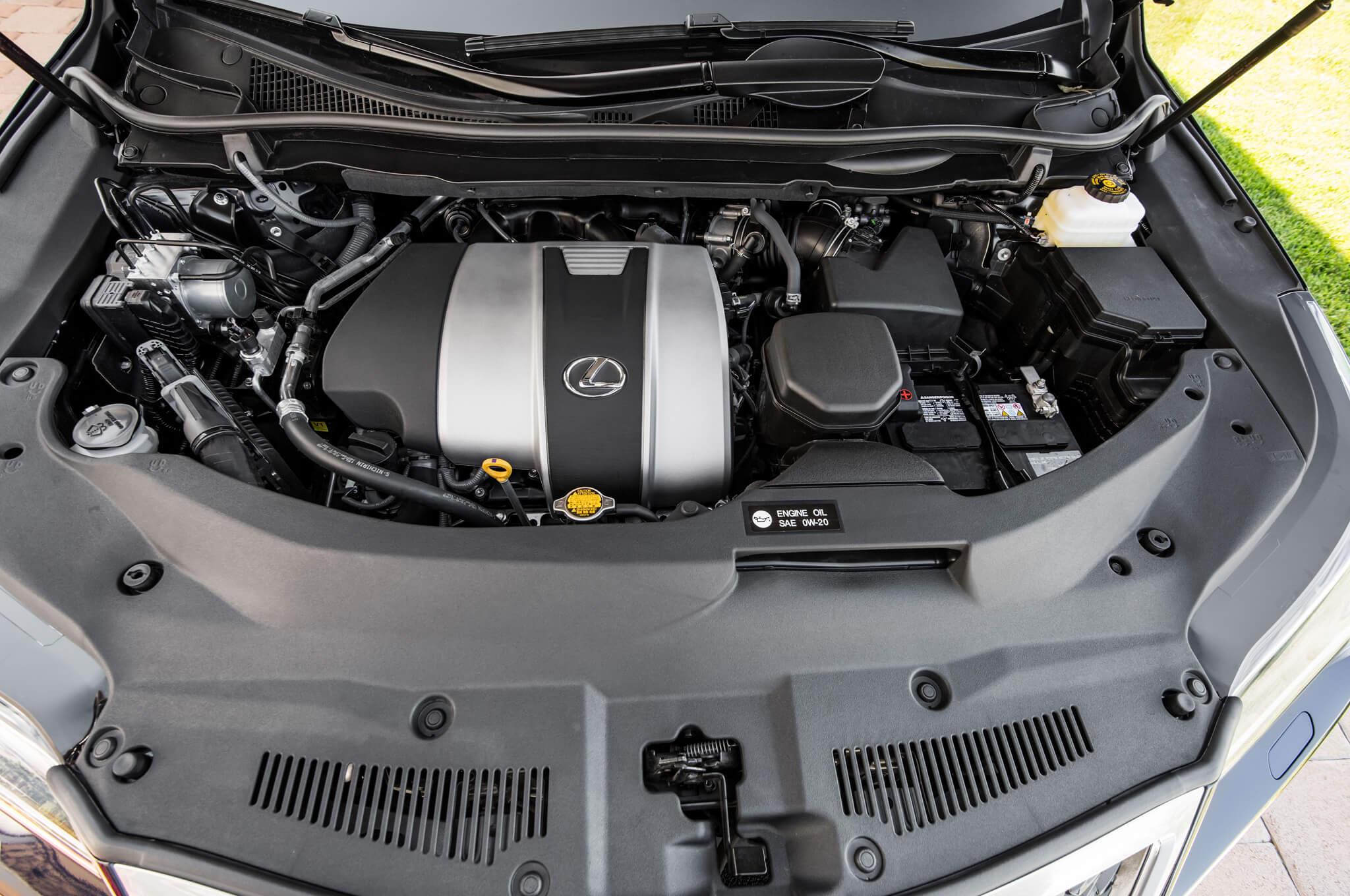 lexus rx 350 engine