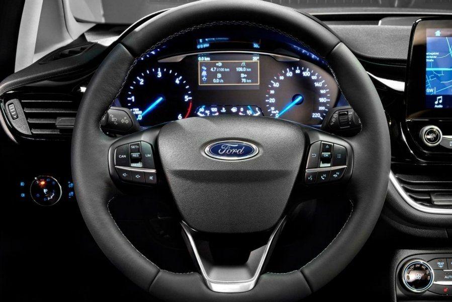 панель управления форд фиеста