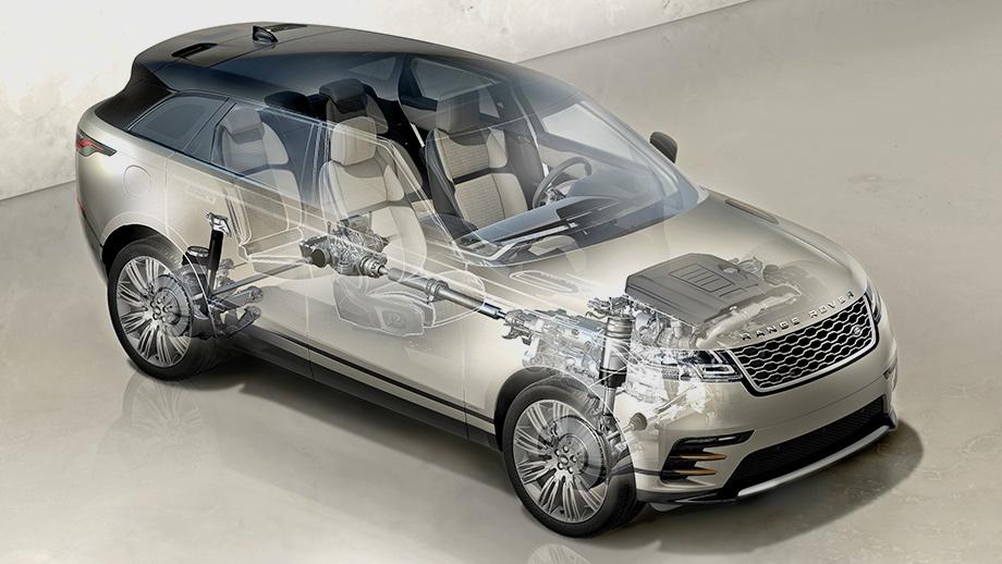 платформа Range Rover Velar