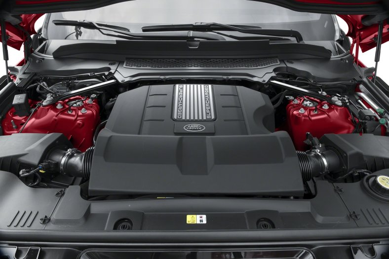 range rover 2018 engine