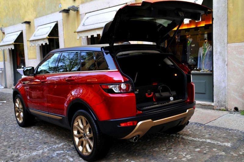 range rover evoque багажник