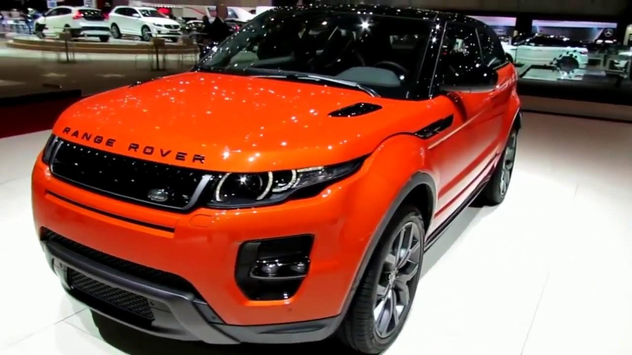 range rover evoque дизайн