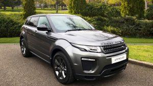 range rover evoque grey