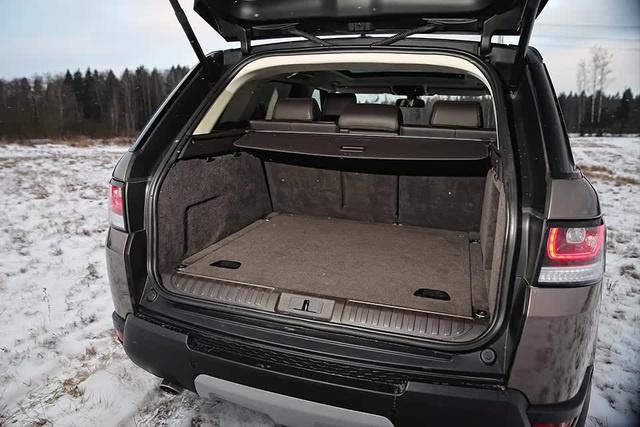 range rover sport багажник