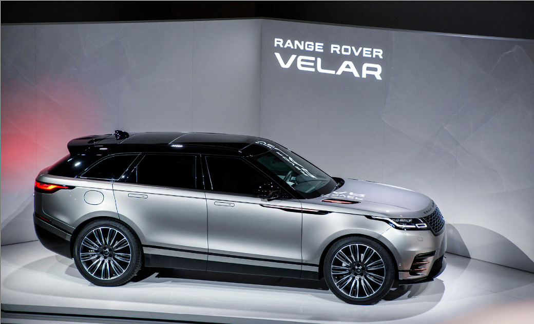range rover velar профиль