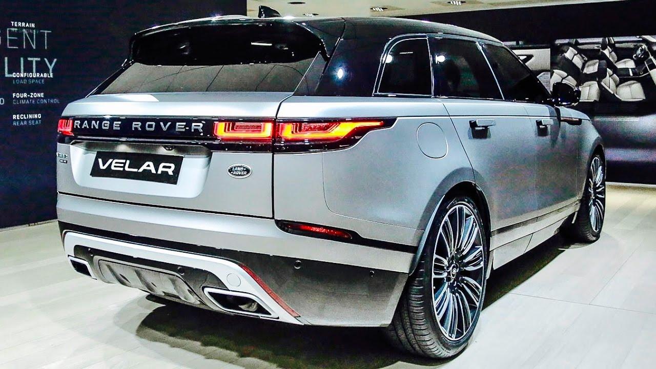 range rover velar сзади