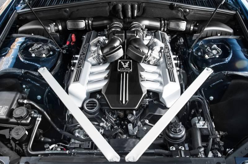 rolls royce wraith мотор