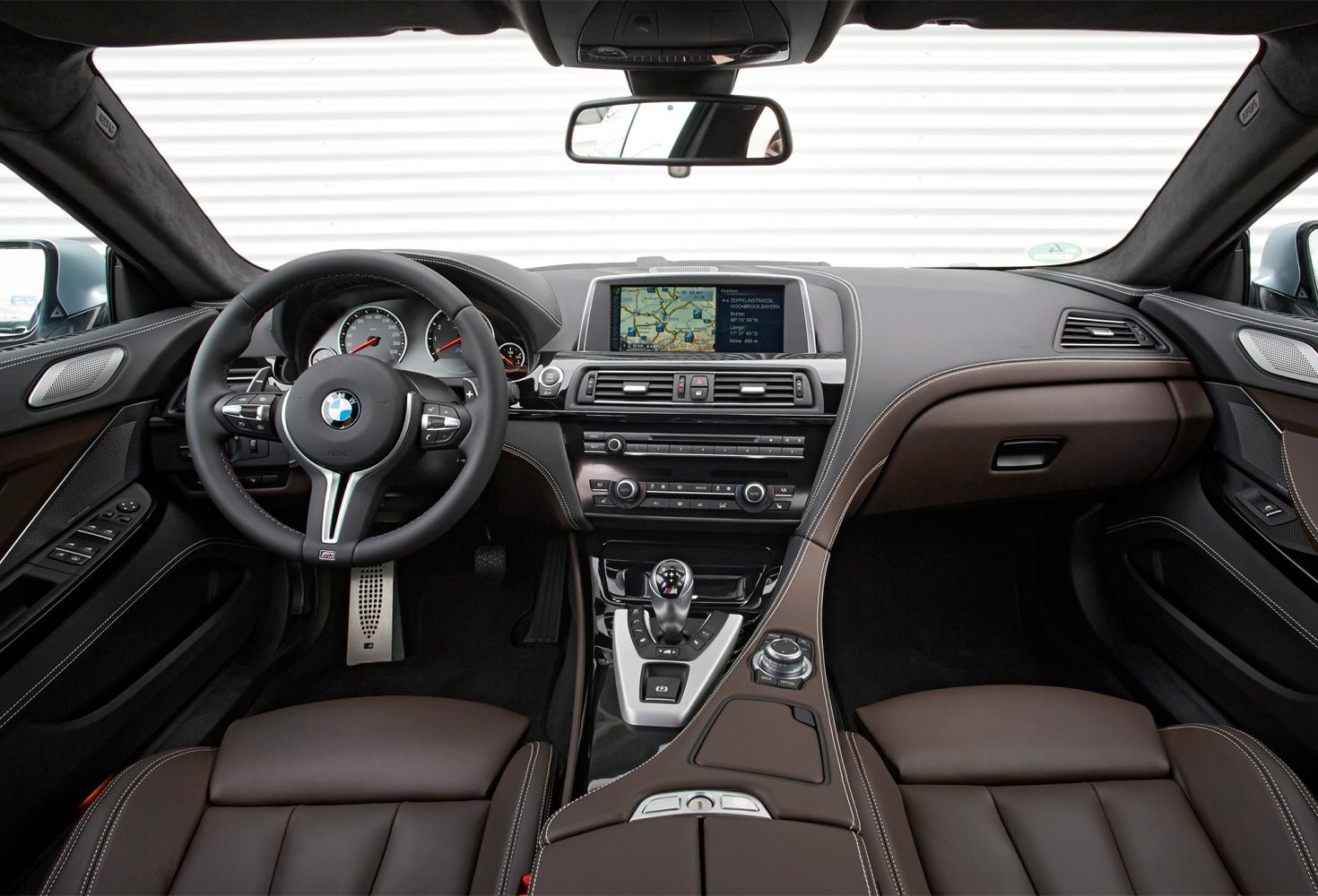 BMW M6 салон