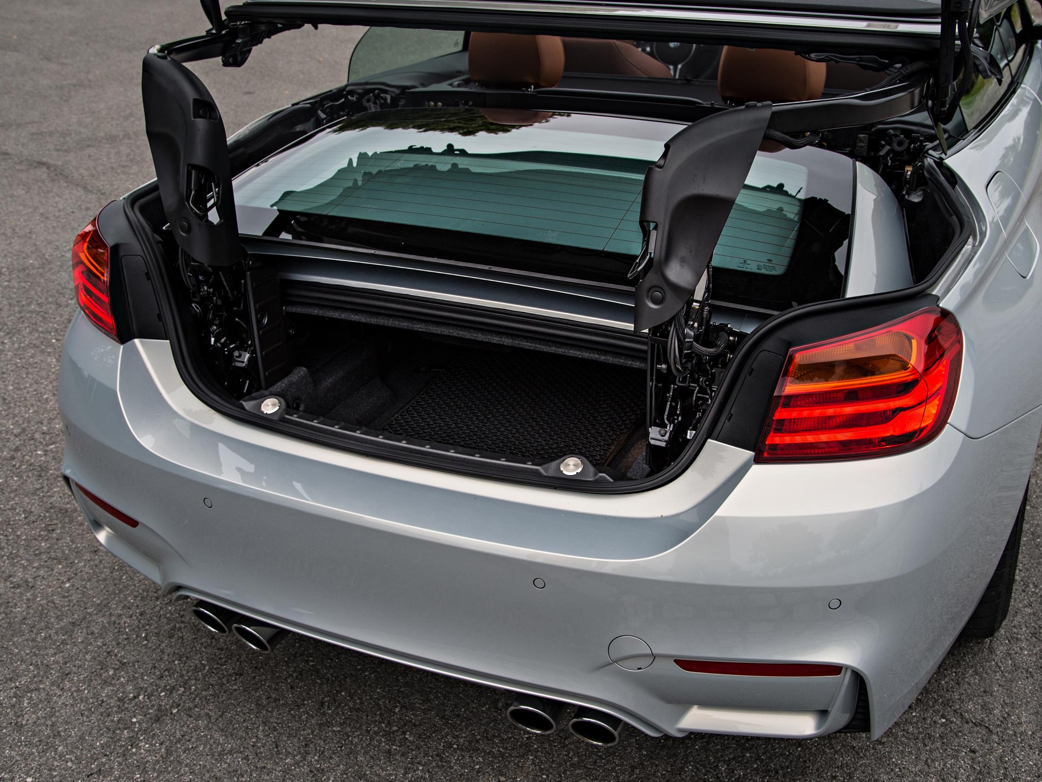 BMW M4 багажник