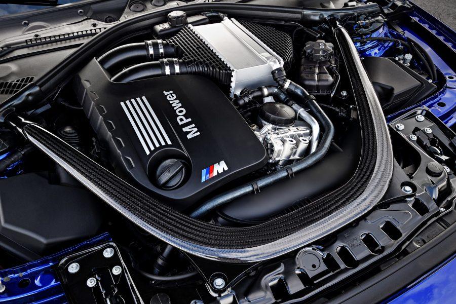 BMW M4 двигатель.