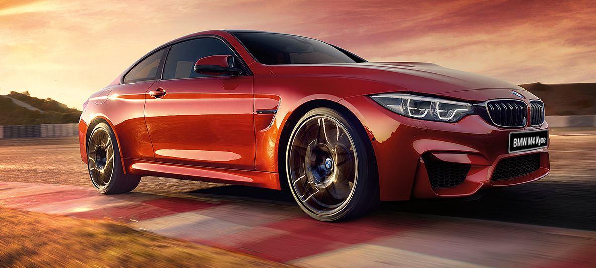 BMW M4 красный перламутр