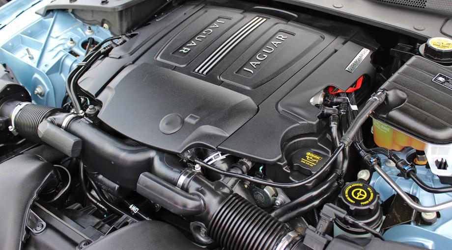 Jaguar XK двигатель