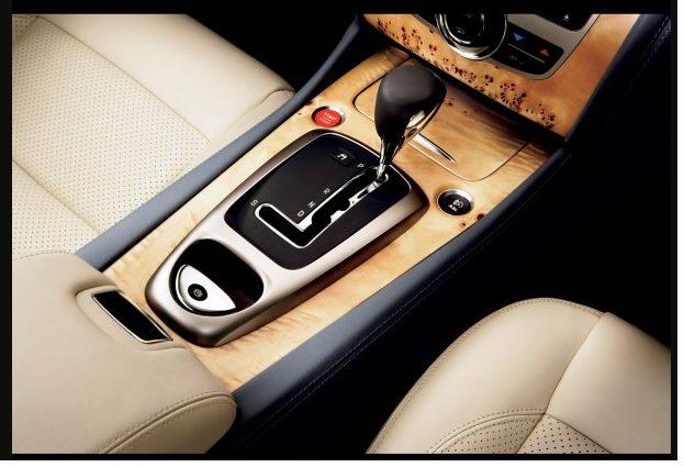 Jaguar XK коробка передач