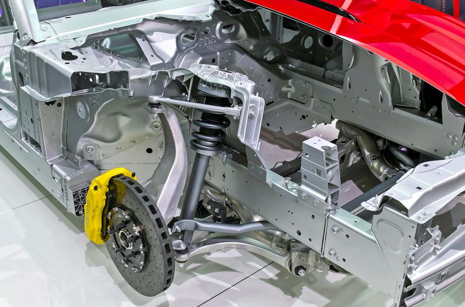 Jaguar XK подвеска