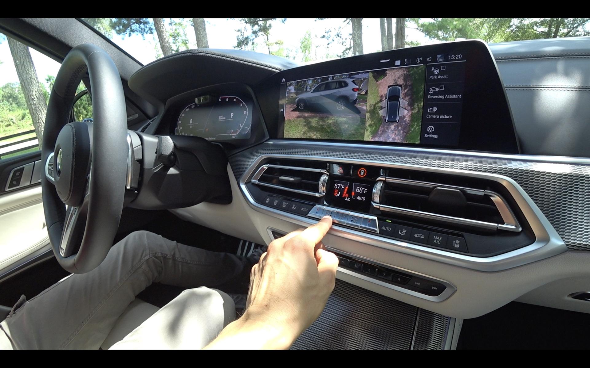 БМВ Х5 g05 экраны