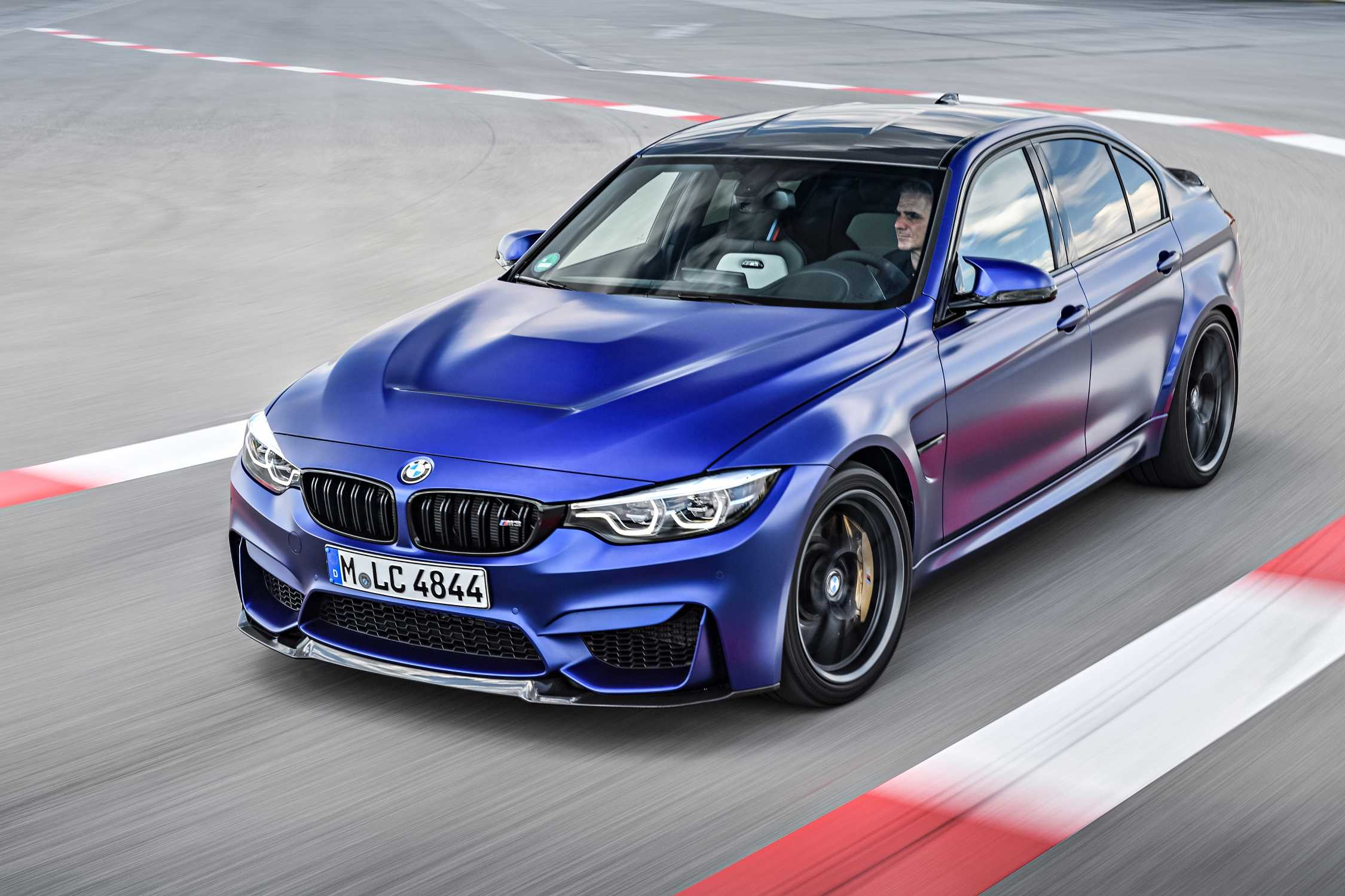 BMW M3 CS.