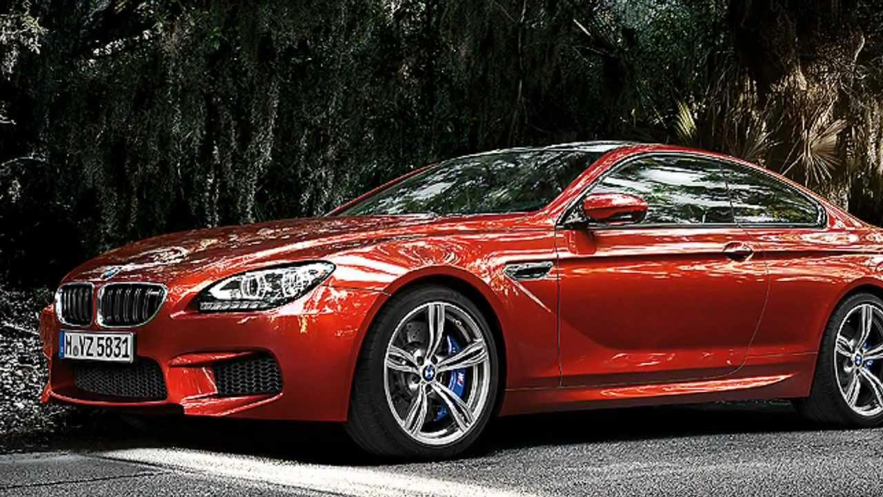 BMW M6 F12.
