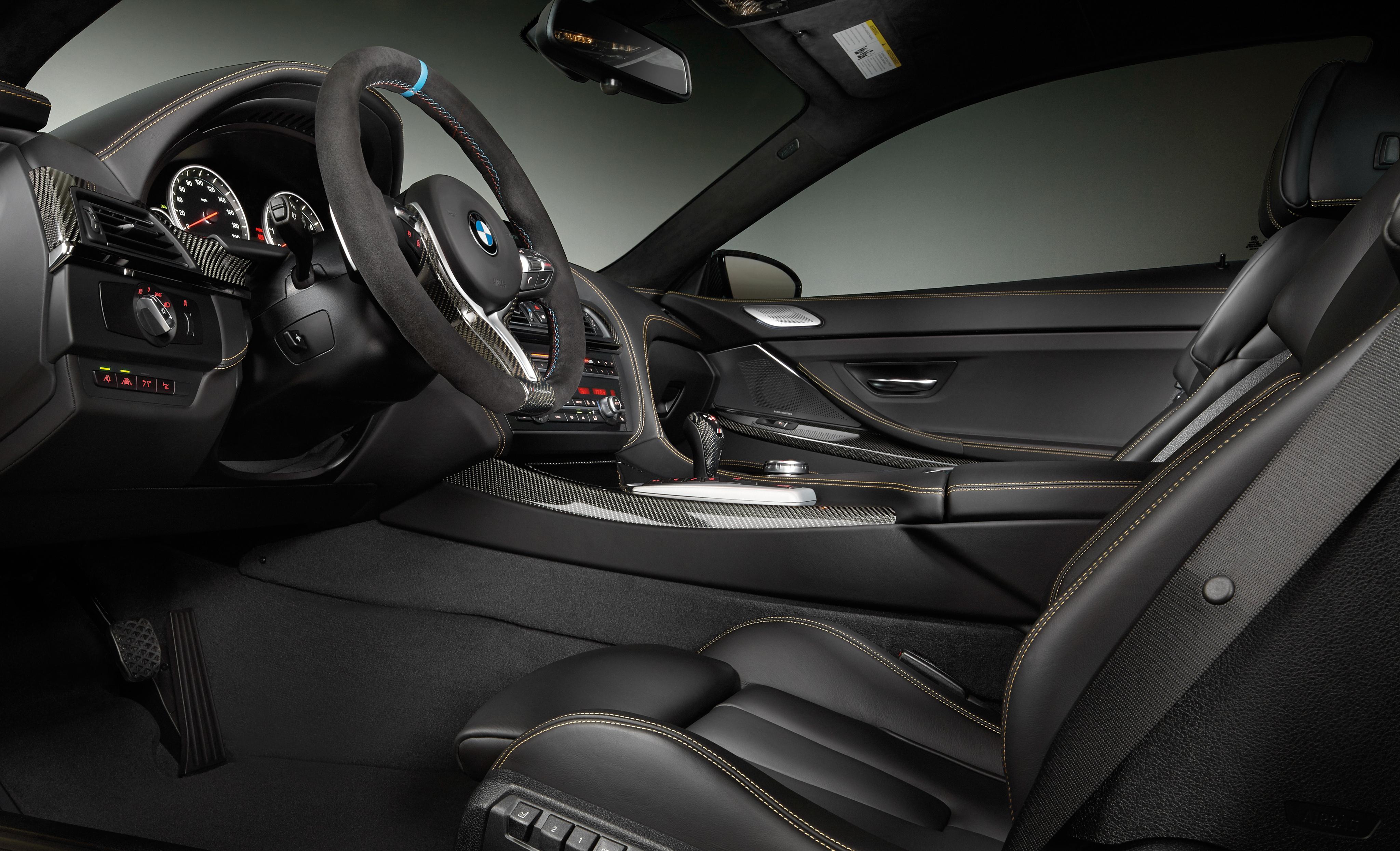 BMW M6 F13 интерьер
