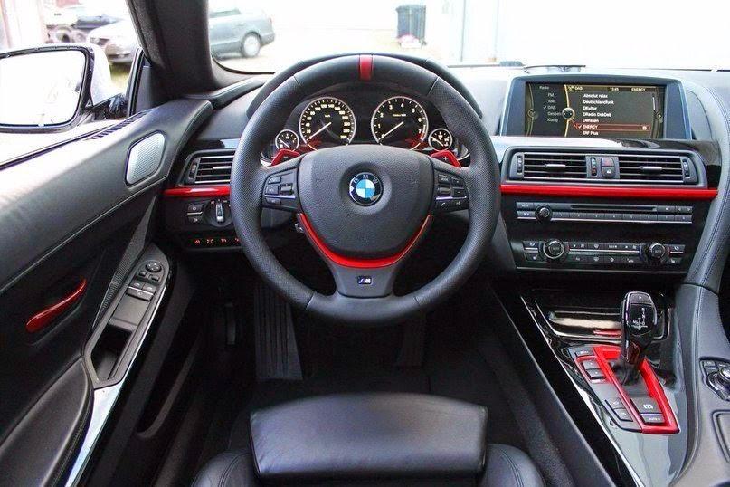 BMW M6 F13 салон