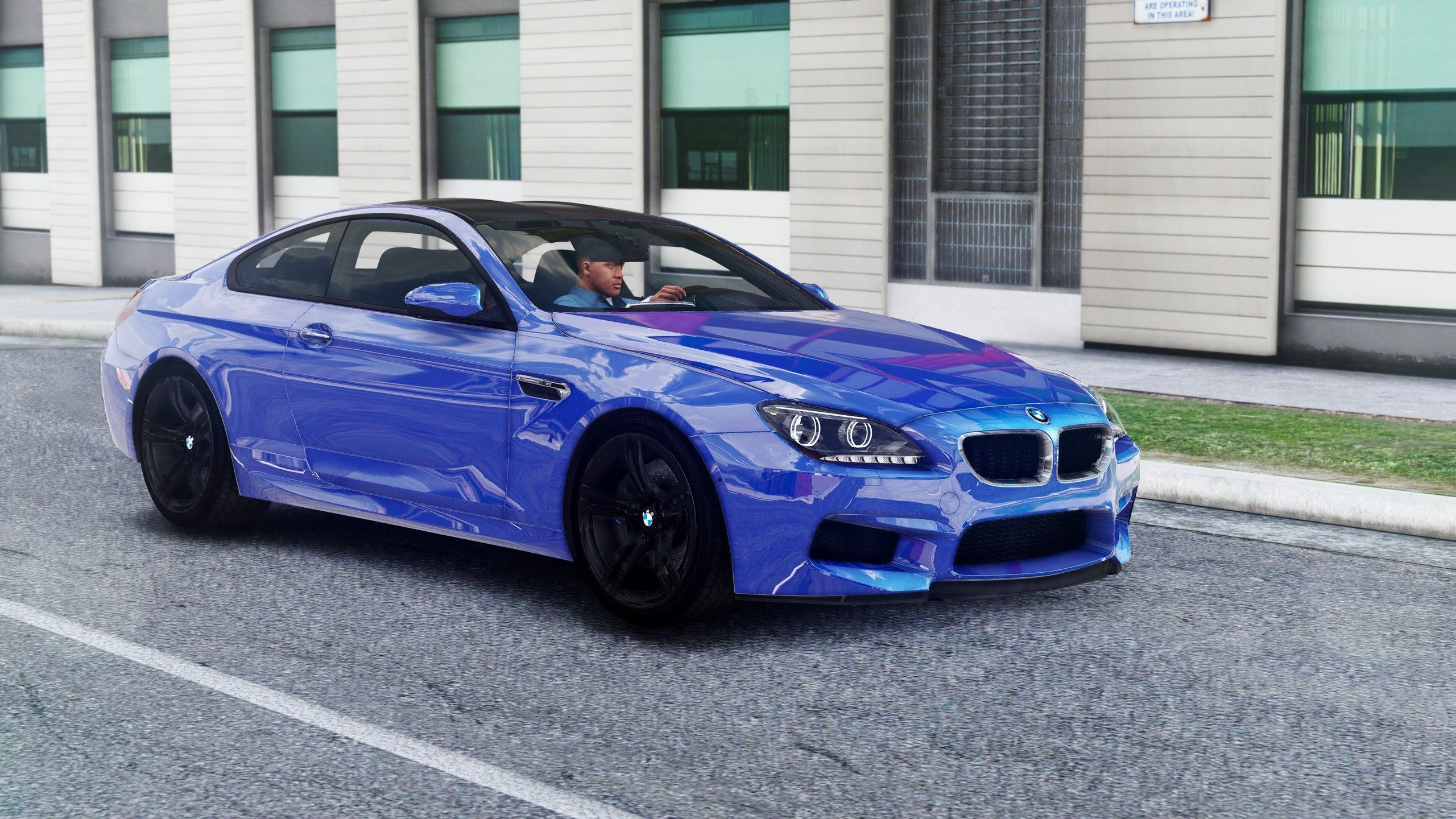 BMW M6 F13.