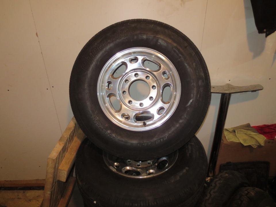 Chevrolet Express колёса