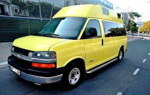 Chevrolet Express жёлтый