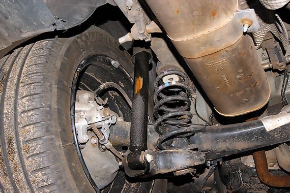 Chevrolet Rezzo амортизатор